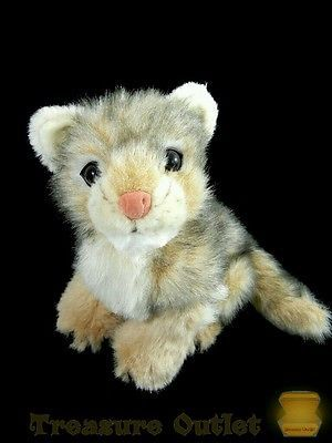 Discovery Channel Kids Commonwealth Stuffed Plush Baby Wolf Puppy Cub 10in