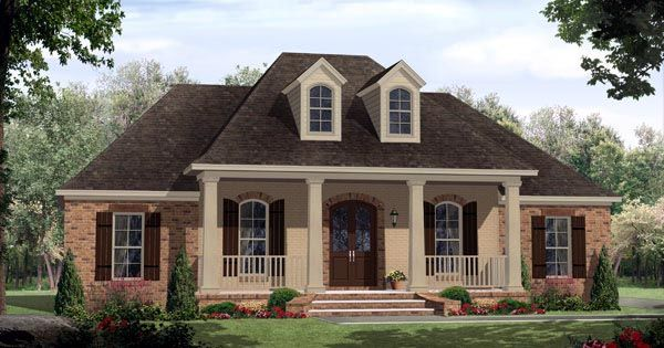 55 best French Country House Plans images on Pinterest | House ...