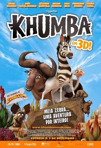 #Khumba opens in Portugal on the 5th of December!