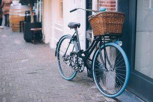 Kosze wiklinowe na rower