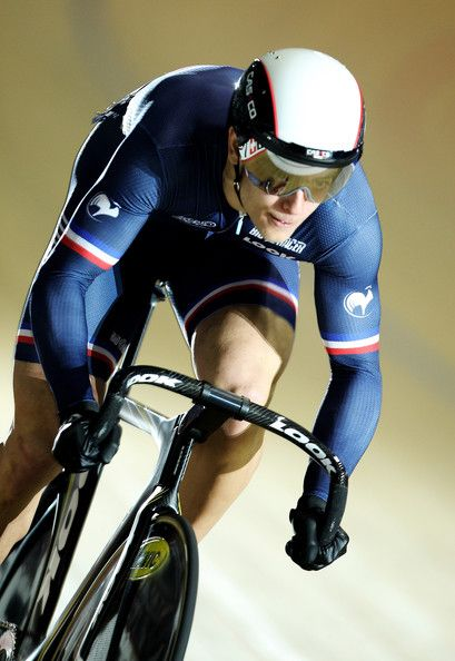 Michael D'Almeida in UCI Track Cycling World Cup Classic in Manchester - Day One