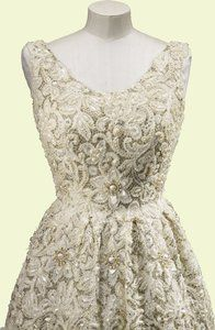 Queen Elizabeth II evening gown  1961  Norman Hartnell (1901-79)