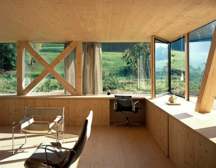 House in Balsthal. Switzerland