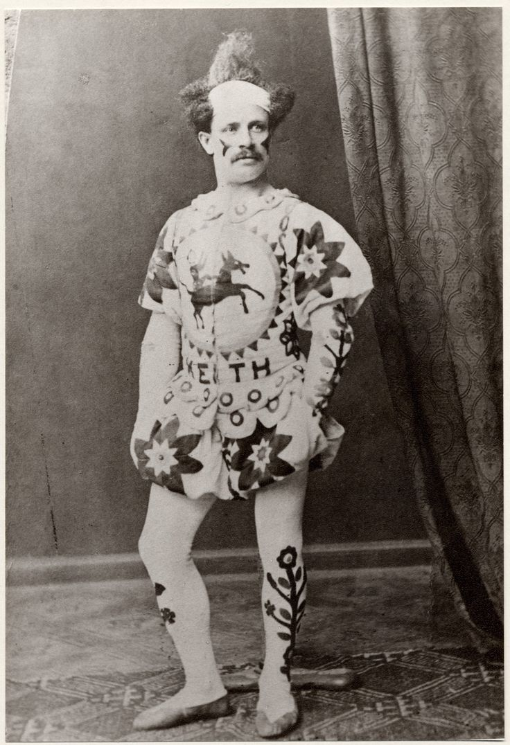 Charlie Keith, around 1840 (V), clown and circus owner