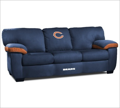 NFL Classic Sofa   Theater Seat Store   Chicago Bears