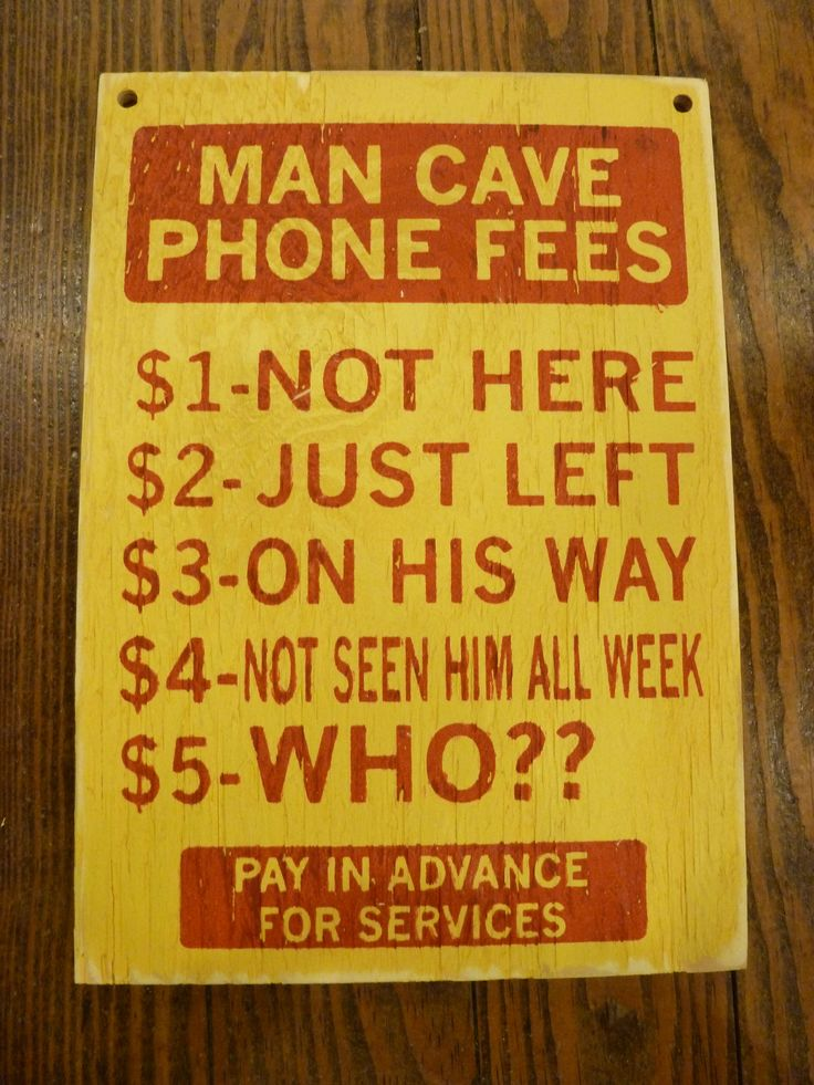 Man Cave.