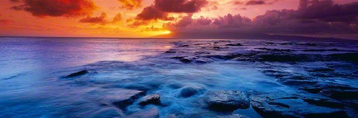 KAPALUA KAPALUA BAY, MAUI, HAWAI'I LIMITED EDITION - 950 ARTIST PROOF - 45 WG321