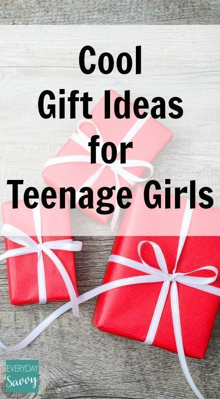 Cool Gift Ideas for Teenage Girls It can be challenging to find neat things to give to your teen girls, but we are here to help. We have found some great gift ideas for teen girls that fall into a variety of budgets. From gadgets, to books to shoes, you w
