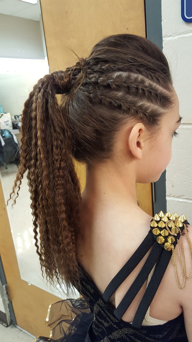 Pin On Dance Hair Styles Makeup Outfits