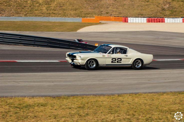 #Ford #Mustang #GT350 sur la piste de #Dijon_Prenois au #GPAO Article original : http://newsdanciennes.com/2015/06/07/news-danciennes-au-grand-prix-de-lage-dor/ #Racecar #VintageCar #ClassicCar