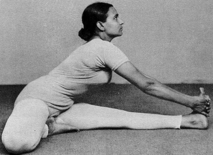 """""""Whenever we find stiffness in the body, our mind should be especially supple. It is never the stiffness in our bodies that limits our practice, it is always the stiffness of our mind."""" ~Geeta Iyengar, """"Yoga, a Gem for Women"""""""