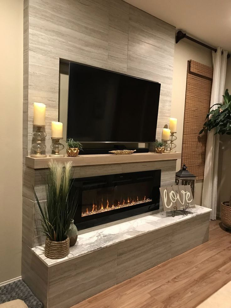 Living Room With Fireplace And Tv On Different Walls New Pin Auf Bello Living Room Decor Fireplace Recessed Electric Fireplace Living Room With Fireplace