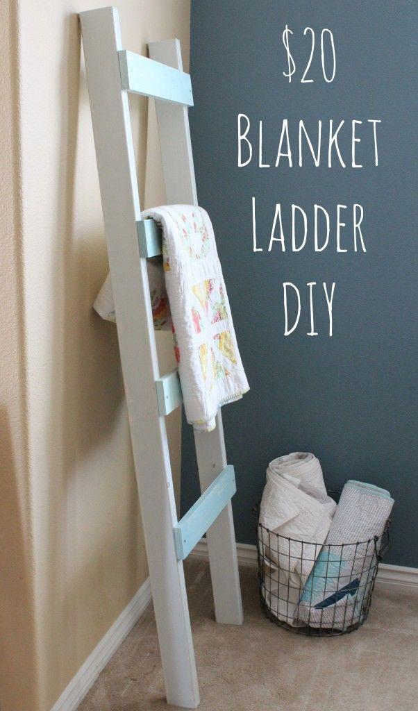 17 Best Ideas About Quilt Ladder On Pinterest Blanket