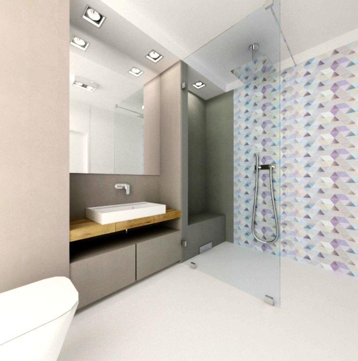 bathroom white&grey