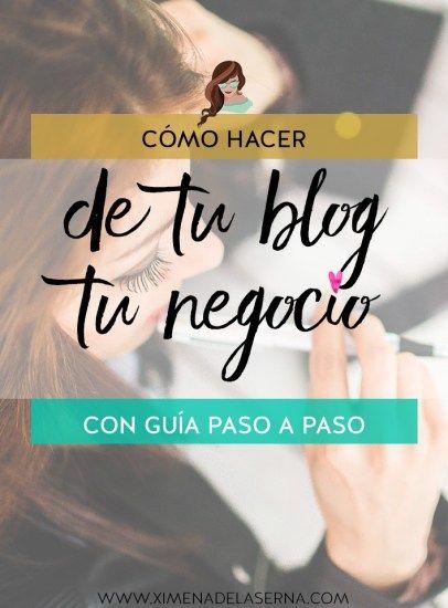 La verdad sobre crear un blog: tu blog no es tu negocio. ¡Y cómo hacer que sí lo sea!