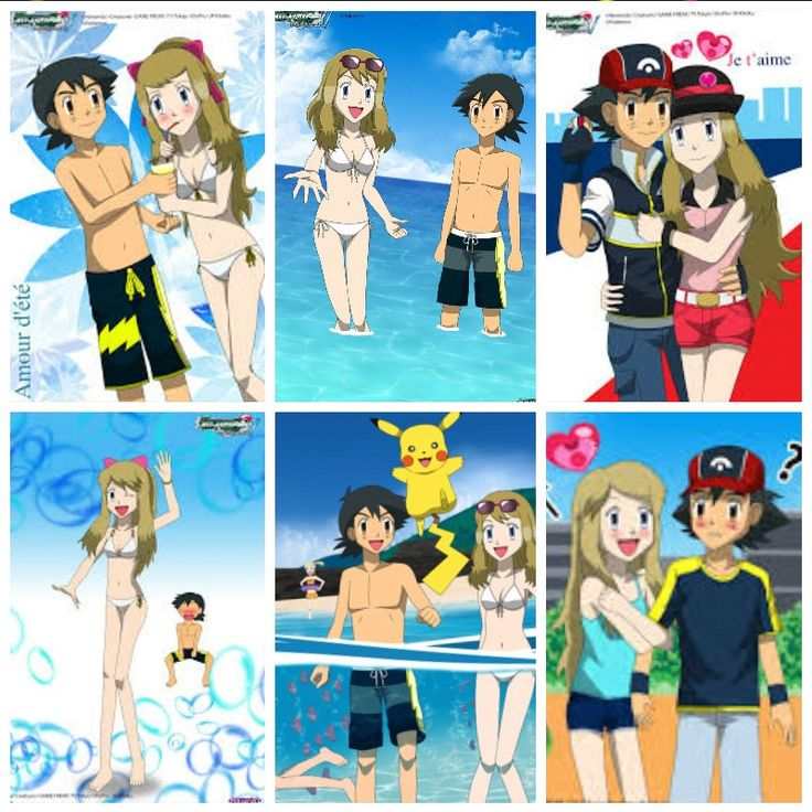 pokemon ash and setena
