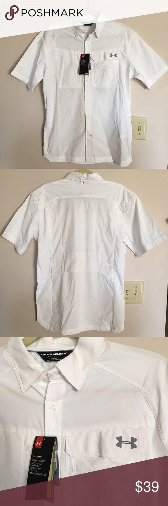 Best 25 shirt under dress ideas on pinterest t shirt for Under armour heat gear button down shirt