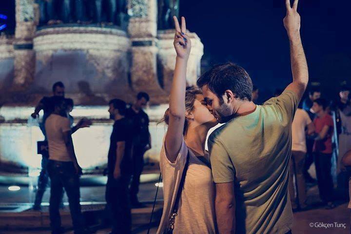 diren gezi parki  occupy love
