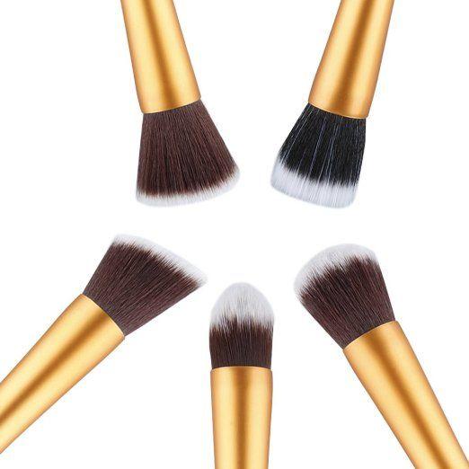 unicorn makeup brushes amazon. amazon.com : ovonni classic 5 pcs essential kit makeup brush set foundation kabuki powder unicorn brushes amazon