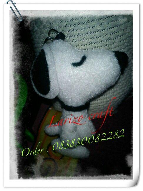Snoopy #flanel#felt#handmade