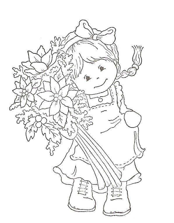 563 best girl stamps images on Pinterest | Stamping, Digi stamps and ...