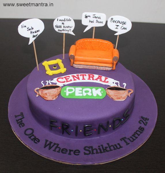 Friends Tv Show Birthday Cake
