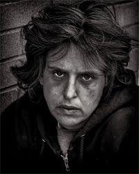 "The Sock Granny ""Everyone deserves warm feet."": Desperate Plight of Homeless Women"