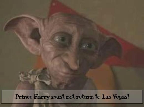 At least for the sake of his elf esteem.: Potter Living, House Elf, Prince Harry, Harry Potter Dobbi, Elf Scene, Harry Potter 3, Harry Potter3, Funny Stuff, Elves