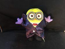"MINIONS Movie Exclusive PLUSH  Figure TOY  5"" Plush Gone Batty Dracula Minion"