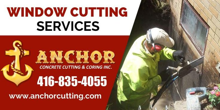 Anchorcutting offers egress #window_cutting #services in #Mississauga, #Brampton, #Milton, #Oakville, #Toronto area. #WindowCuttingBrampton Contact today: 416-835-4055  visit: http://www.anchorcutting.com/window-cutting-services.html