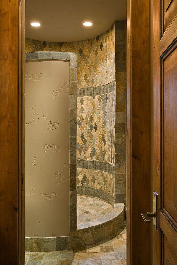 17 best images about shower ideas on pinterest ceramics for Unique bathroom tile designs
