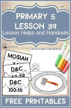 Lesson 39: The Saints Build Winter Quarters
