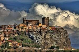Motta Sant'Anastasia--the town we lived in Sicily