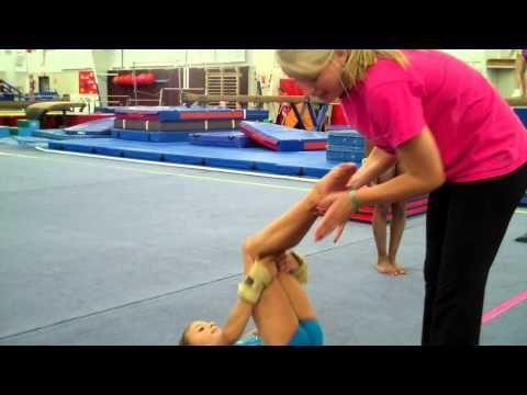 Cincinnati Gymnastics back tuck - YouTube