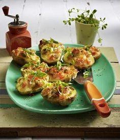 Bruscetta-Kartoffeln