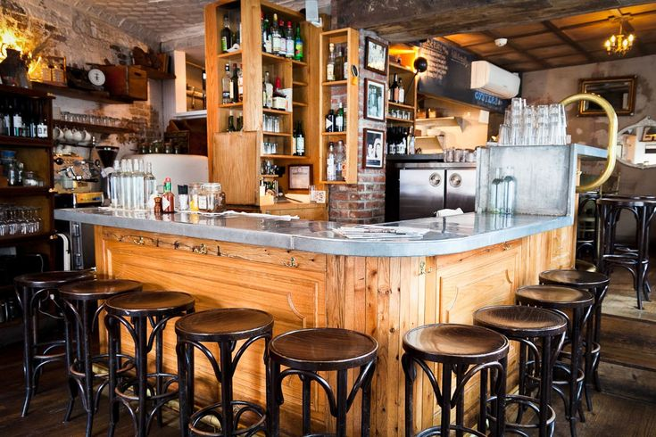 Joseph Leonard in West Village known for their delicious Bloody Mary's and oysters