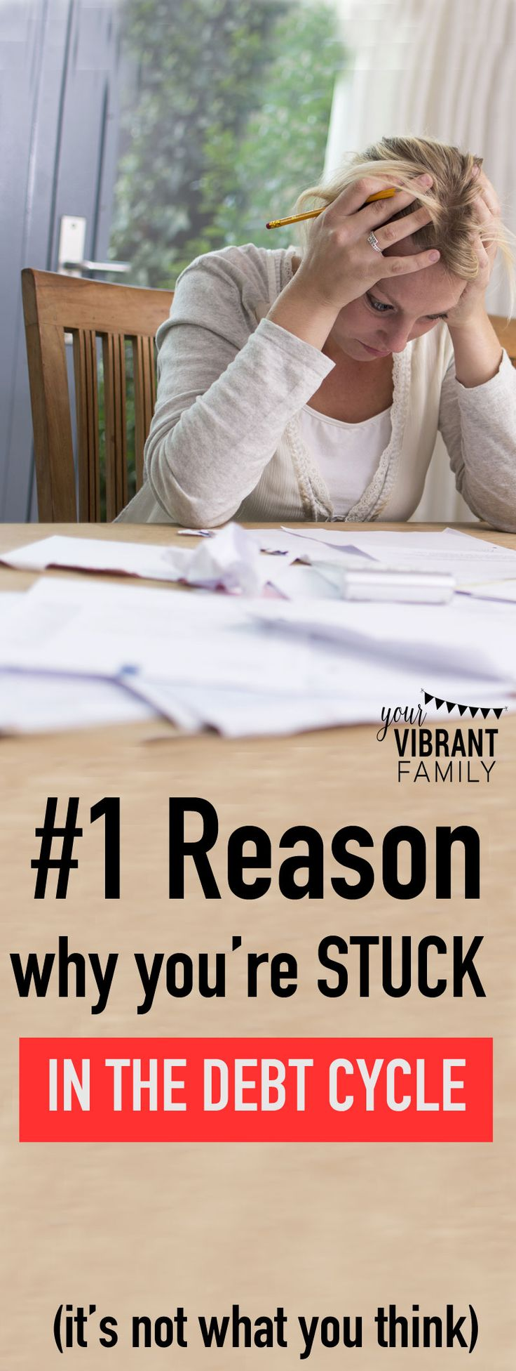 26 best retirement 101 images on pinterest retirement life 1 reason why youre stuck in the debt cycle fandeluxe Images