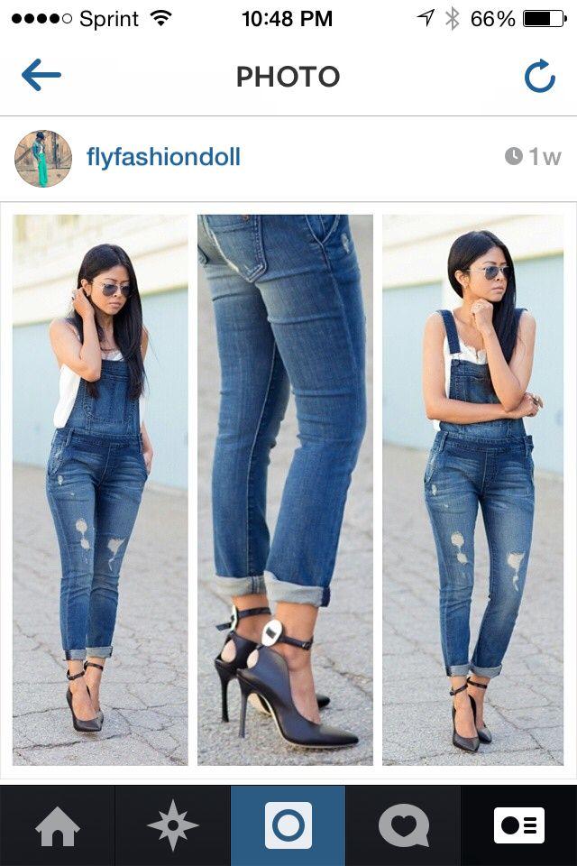 style jean dress jumper