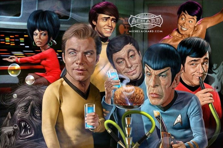 Star Trek Caricature