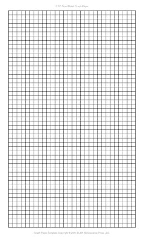 1 4 Inch Graph Paper Template Legal Pdf Feuilles D 233 Criture