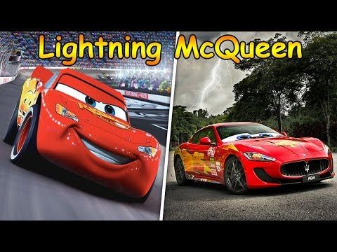 Cars Movie Characters In Real Life Youtube Movie Cars Movie