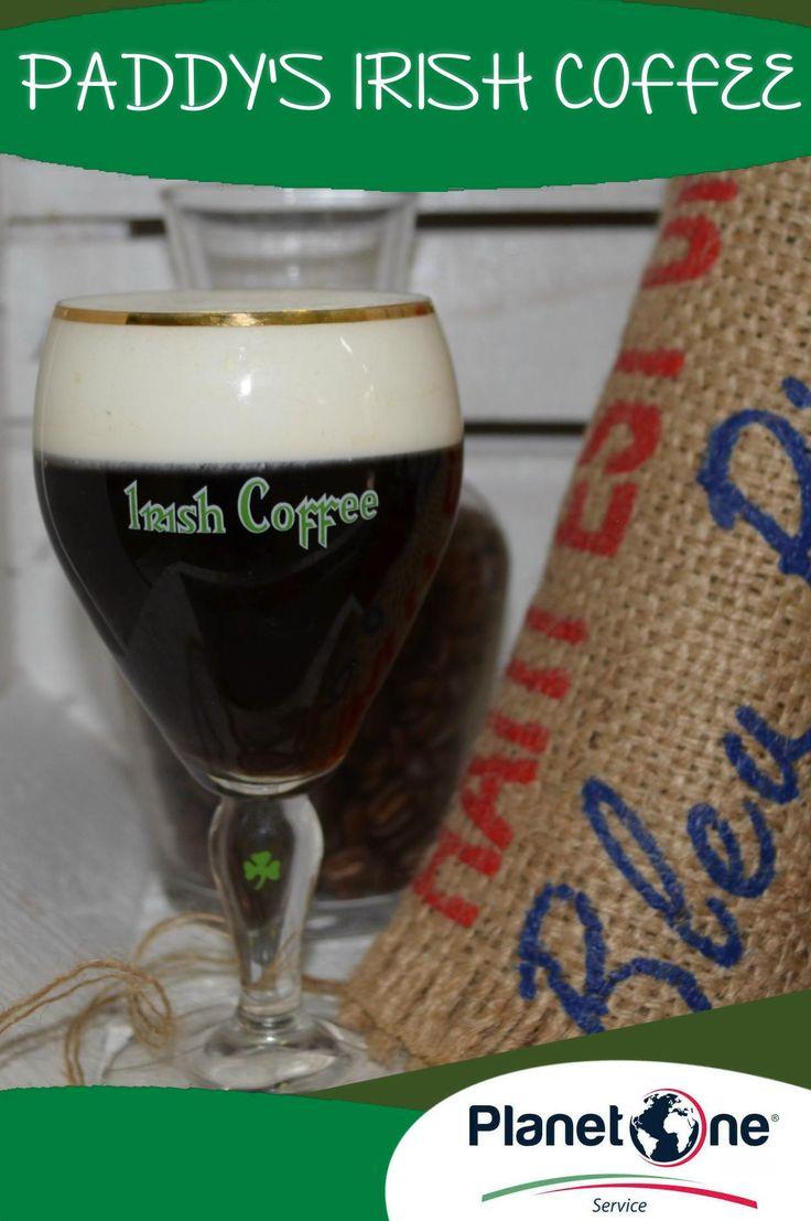 """Cocktail Alcolico """"Paddy's Irish Coffe"""" Ingredienti: 3 cl whiskey filter coffee  (q.b.) 1 cucchiaino zucchero di canna panna da montare per la ricetta completa visita: http://www.planetone.it/paddys-irish-coffee/"""
