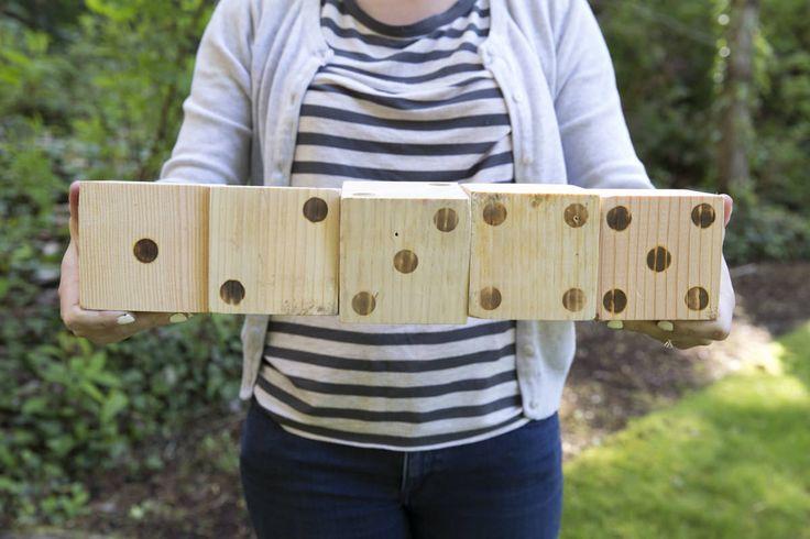 Dunn DIY How to Build a Life-size Yard Yahtzee Game Seattle WA 9