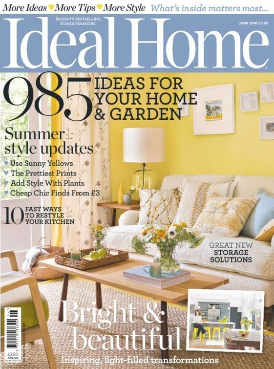 #IdealHomeUK: #Ideal Homes is Britain's best-selling home magazine, bringing readers the latest looks for every room