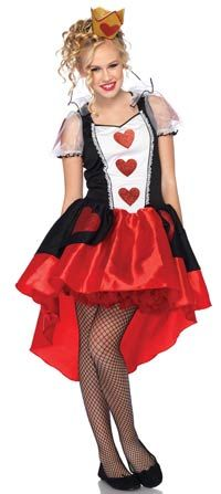 Queen of hearts front