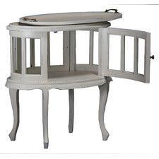 Oval Tea Table with Tray
