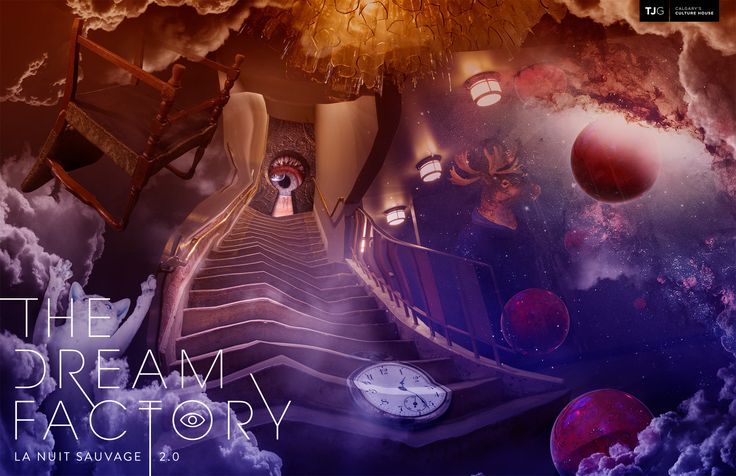 THEATRE JUNCTION GRAND: La Nuit Sauvage 2.0 | The Dream Factory Fundraising Event - This year we are the sponsor for this fundraising event. As part of the sponsorship, we created this artwork to visually capture the experience you will have at this event.