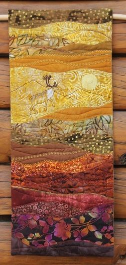 New quilt - On the Trail Creations