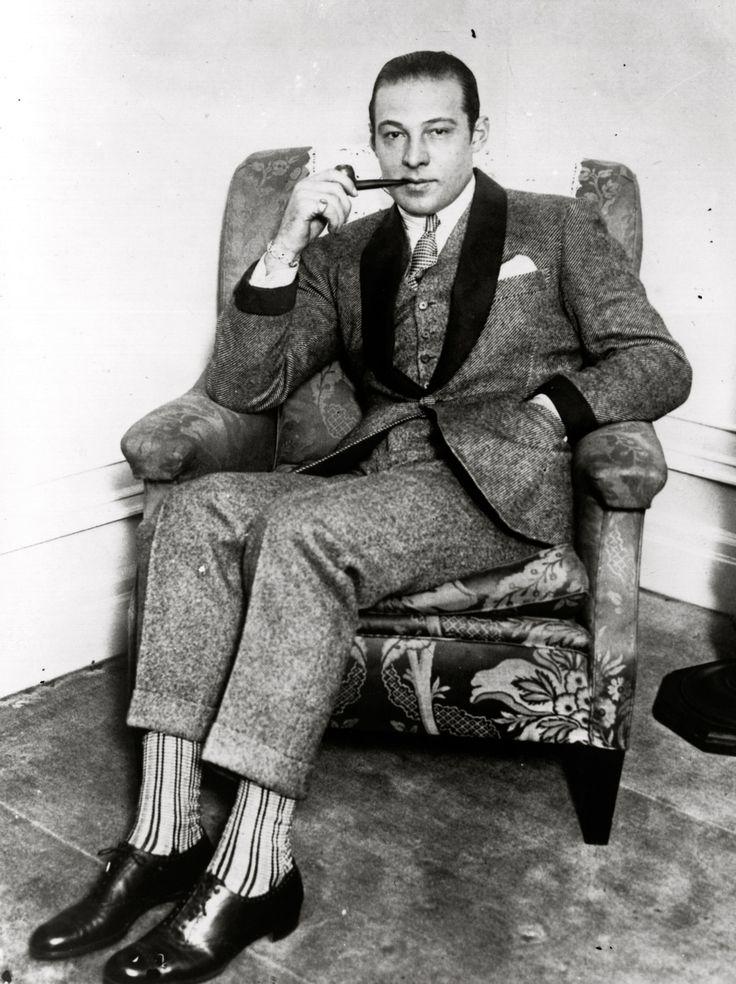 Rudolph Valentino (c1925) socks!