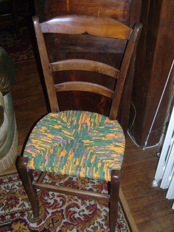 Beau Comment Rempailler Une Chaise Video #8: Chaise_rempaill_e